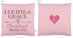 Personalised Christening Cushion - Pinkhttp://www.colourandspice.net.au/#!product/prd3/2224291751/personalised-christening-cushion---pink