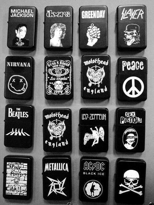 Rock n Roll lighter