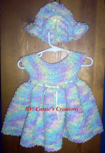 Free Crochet Patterns for Baby Dresses Summer, Baby ...