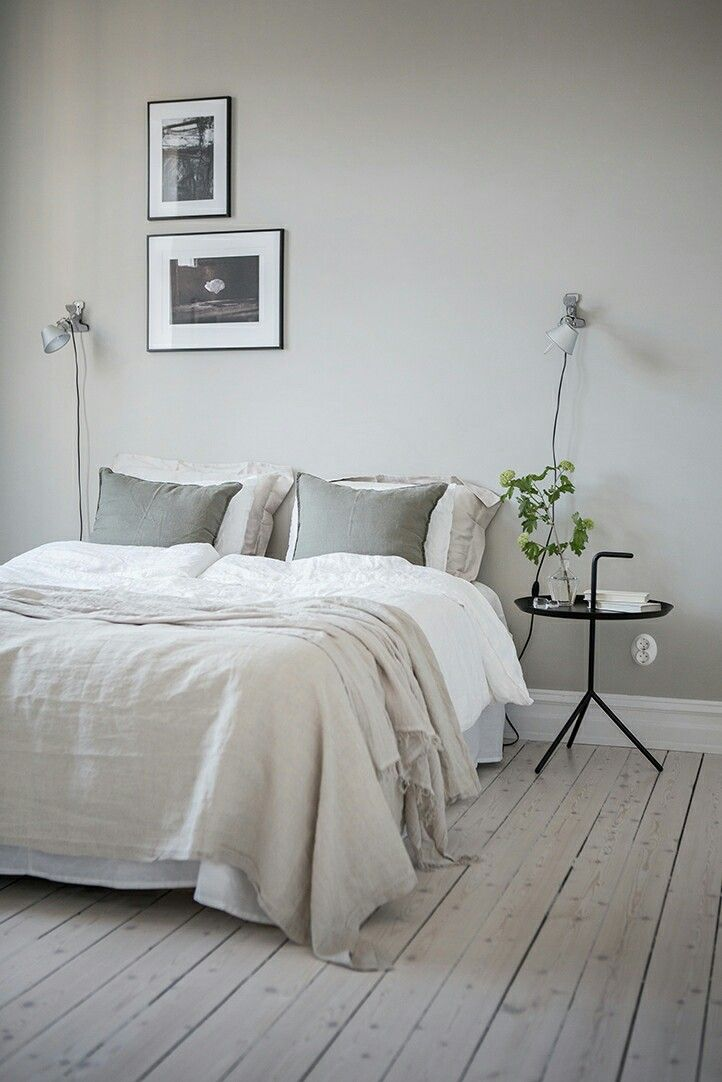 Ideas for bedroom: minimal nightstand(s)
