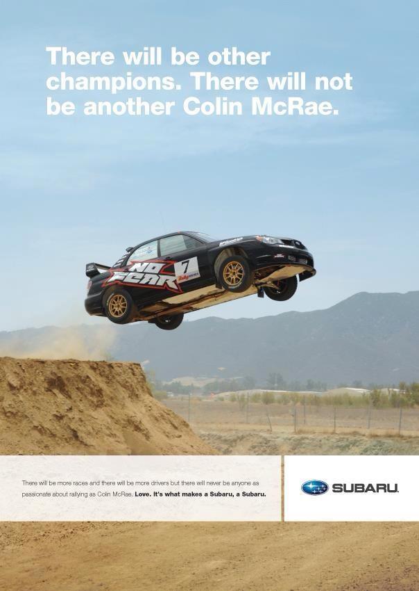 Colin McRae. Nuff Said.