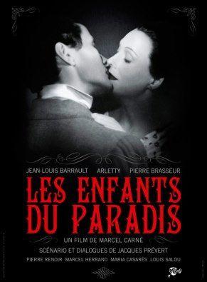 Les enfants du Paradis --écrit par Jacques Prevert