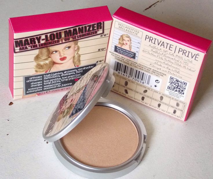 makeupbyelena: Mary Lou Manizer.Highlighter