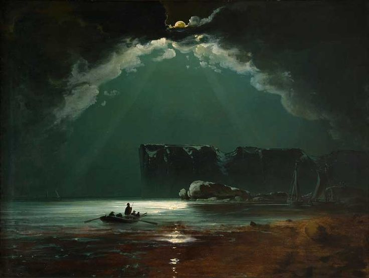 Peder Balke, North Cape, 1840s