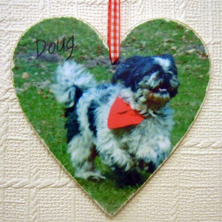 Doug dog plaque