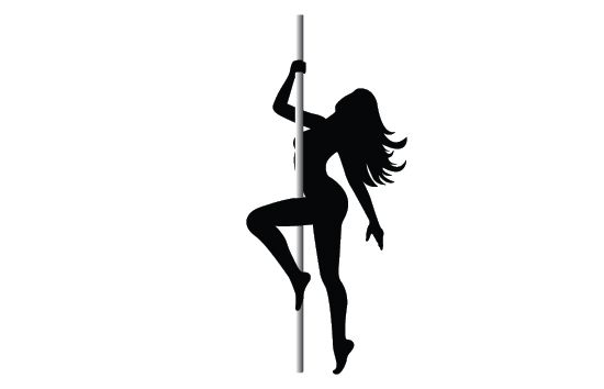 Stripper on pole clip onlines