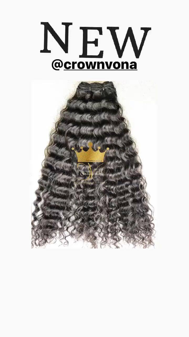 Buqi Fashion Knit Cap With Wig Black Brown Long Straight