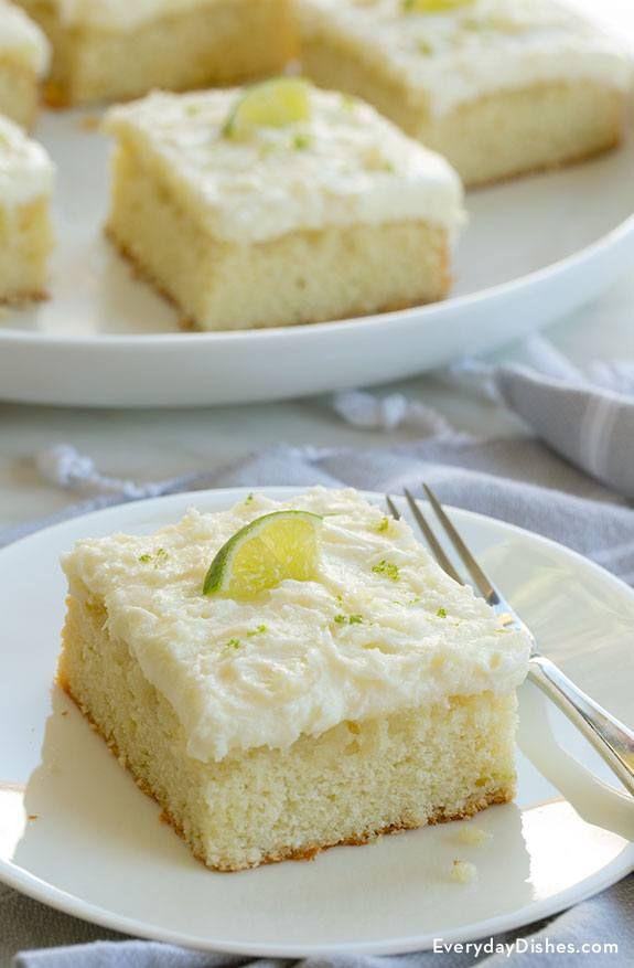 Tequilla Lime Margarita Cake Recipe