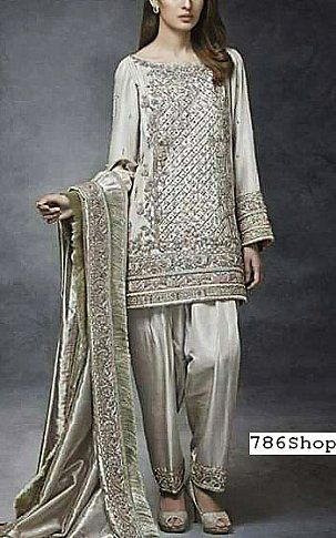 Buy Pakistani Designer Clothes Online | Light Green Silk Suit Buy Pakistani Designer Fashion Dress In 2018