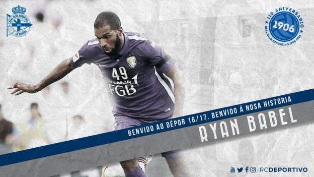 Former Liverpool wingerRyan Babel has joined La Liga side Deportivo La…