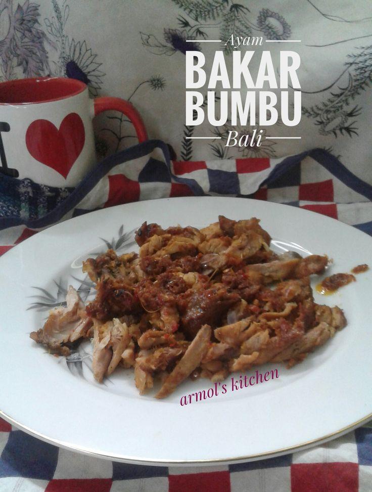 Ayam bakar bumbu bali.  Yuk simak resepnya https://aneka-resep-masakan-online.blogspot.co.id/2016/11/resep-ayam-bakar-bumbu-bali.html