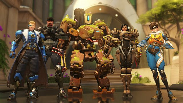 Game Engine: OVERWATCH NOW HAS A NEW MAP