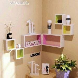 Jual Rak Display Hias Dinding Unik Keren 1 Set 3 Kotak Warna Warni - CemaraStore | Tokopedia