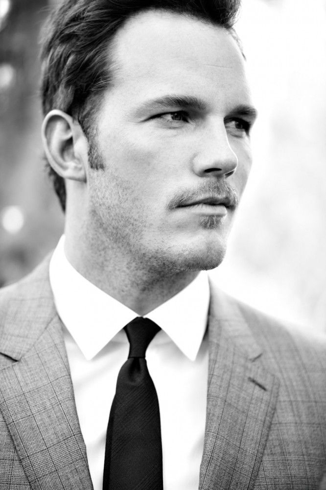 Chris Pratt.  I really am proud support this actor with some of the recent interview discussions he has had.