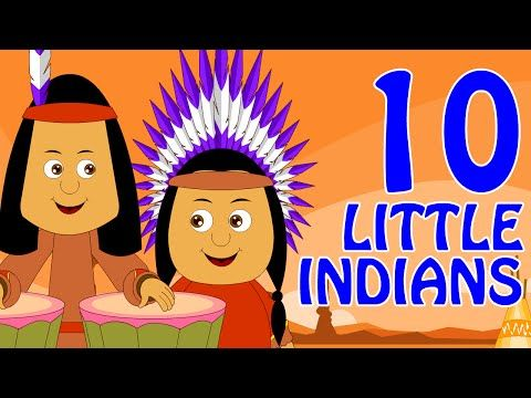 Ten Little Indians | Nursery Rhymes | Popular Nursery Rhymes by Hooplakidz - YouTube