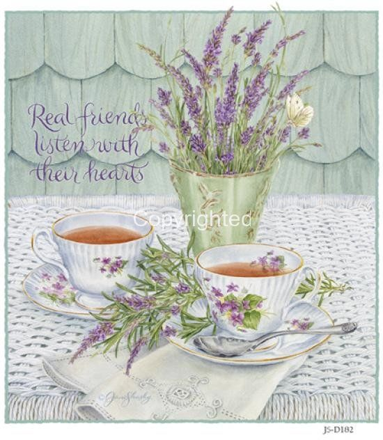art Jane Shasky  ** Real friends listen with their hearts**