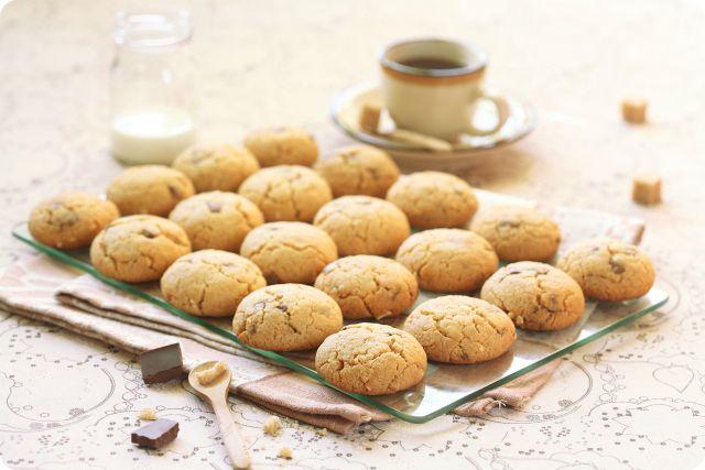 Verdade de sabor: Арахисовое печенье с шоколадом / Cookies de mantei...