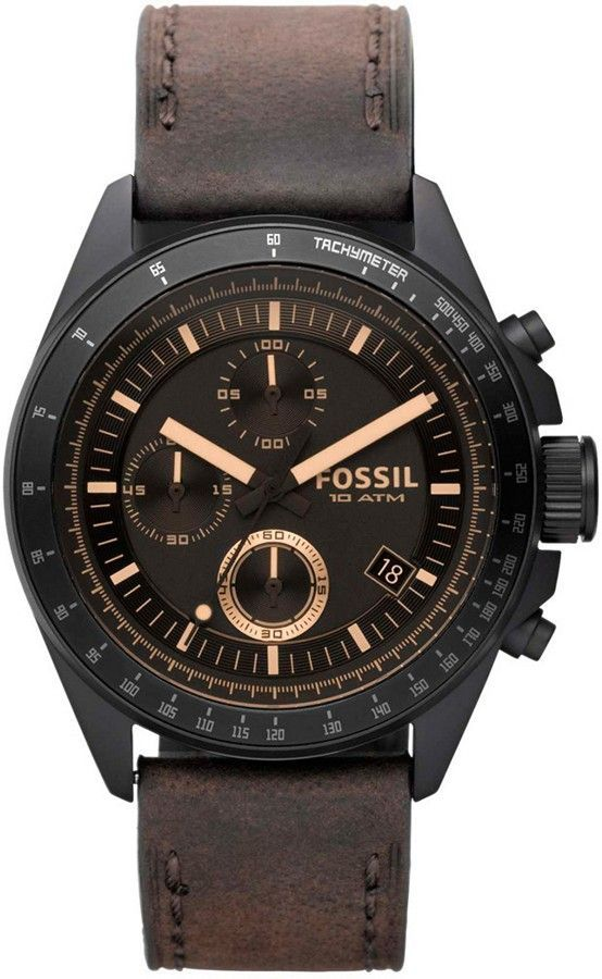 CH2804 - Authorized Fossil watch dealer - MENS Fossil DECKER, Fossil watch, Fossil watches - online shopping mens watches, mens watches with leather bands, mens watches black stainless steel