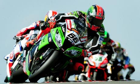 WSB. Tom Sykes closes on World Superbike lead with double at Donington Park. Here's hoping.