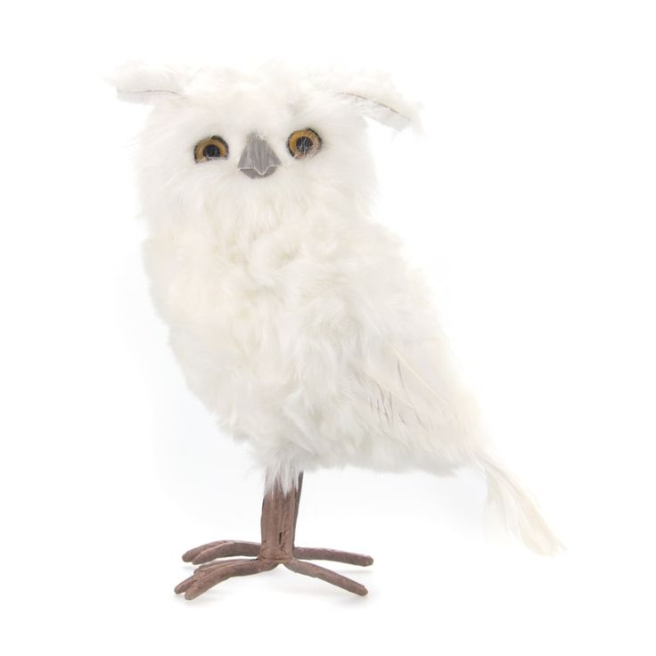 Decorate your Christmas tree with a beautiful decorative white snowy owl | It's all about Christmas
