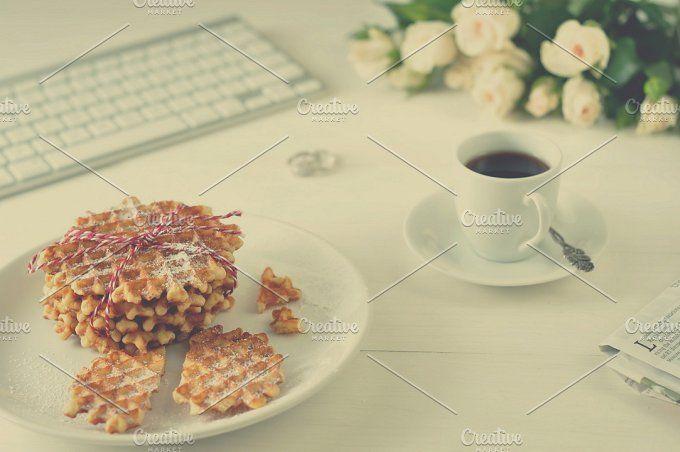 Happy breakfast by White Nova Studio on @creativemarket