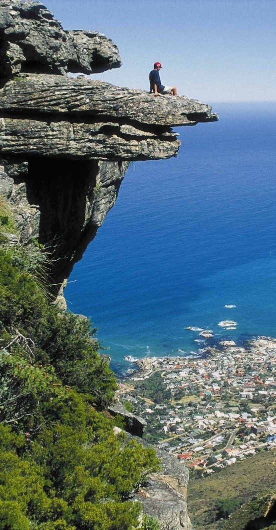 Cape Town, South Africa..Cape Town is beautiful....This is Table Mountain, the view is exquisite. Robben Island was very emotional...I loved South Africa!
