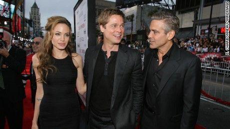 George Clooney 'very sorry' to hear of Angelina Jolie, Brad Pitt divorce - CNN.com