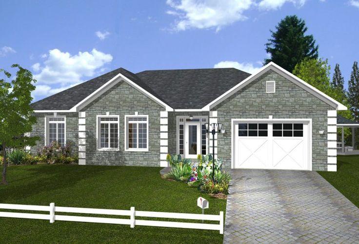 Modèle de maison usinée :  Ranger / Prefab house  Maisons Champoux Homes
