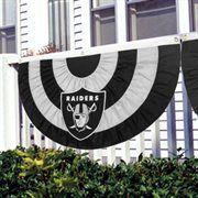 Oakland Raiders Team Logo Bunting