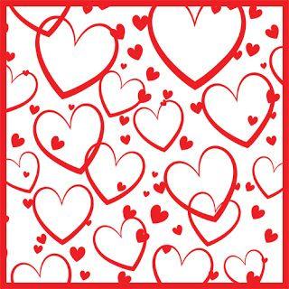 Freebie Friday - Heart Background