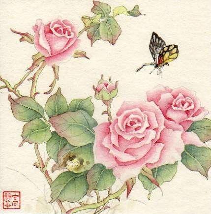 """In Late Spring"" - Original Fine Art for Sale - © Jinghua Gao Dalia"