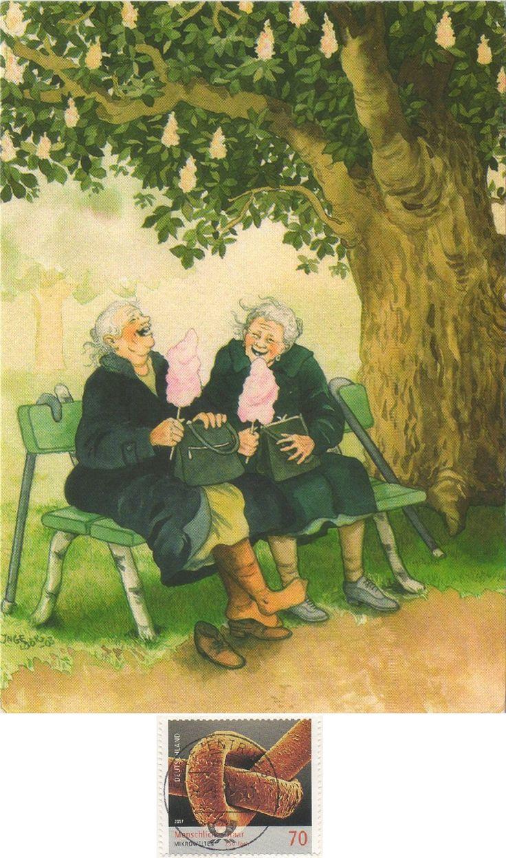 картинки для декупажа веселые старушки встречаются рисунки