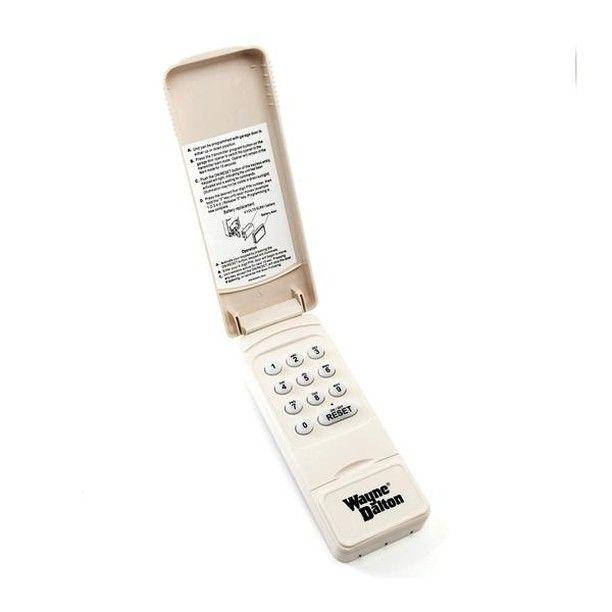 Wayne Dalton Wireless Keyless Entry Keypad Kep4 334642 372 Mhz For Quantum Classic Drive Idrive Prodrive Ga Wayne Dalton Keyless Wayne Dalton Garage Doors
