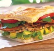 Rosemary Chicken, California Avocado and Pancetta Panini Recipe | California Avocado Commission