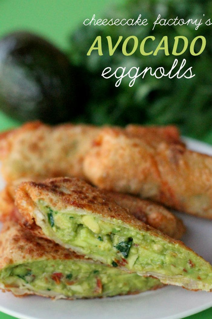 Cheesecake Factory Avocado Egg Rolls from Lil Luna