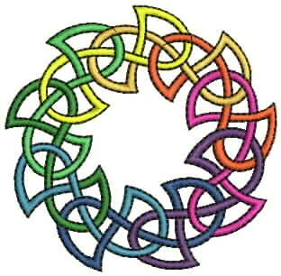 Celtic embroidery designs - many on this page
