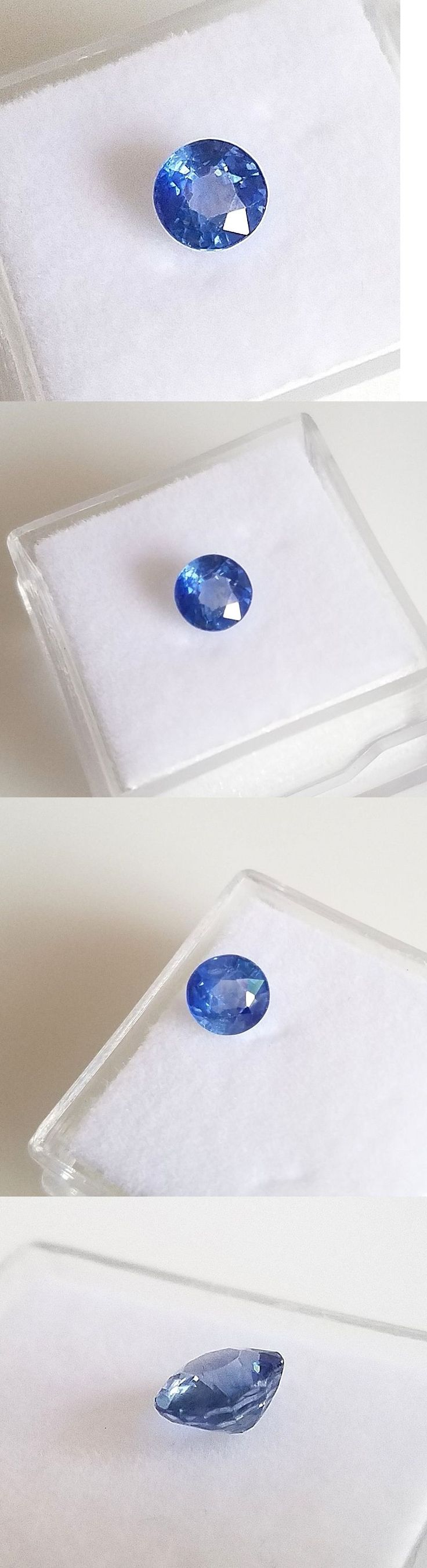 Natural Sapphires 4644: Natural .83 Carat Ceylon Blue Sapphire Genuine Loose Stone Round -> BUY IT NOW ONLY: $139 on eBay!