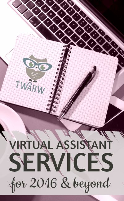 Awesome list of in demand virtual assistant services for 2016.