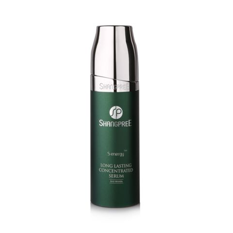 Shangpree S-energy Long Lasting Concentrated Serum | A Korean serum containing Hydrolized Silk, Propolis, and Panthenol to repair and firm the skin. The anti-aging properties leaves skin looking younger by helping to improve skin texture and complexion. | Peach and Lily