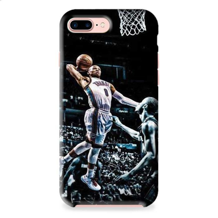 Russell Westbrook Paint Dunk iPhone 7 3D Case Dewantary