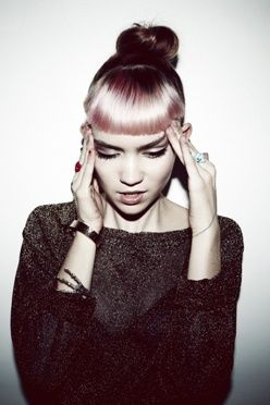 【ELLEgirl】ファッション界が注目する女性アーティスト、グライムスが来日!|エル・ガール・オンライン