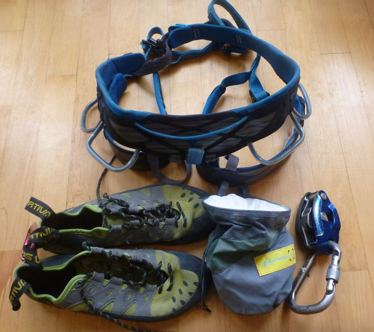 A comprehensive beginner climbing gear list covering the essential climbing gear a new climber will need during their first few months in rock climbing.