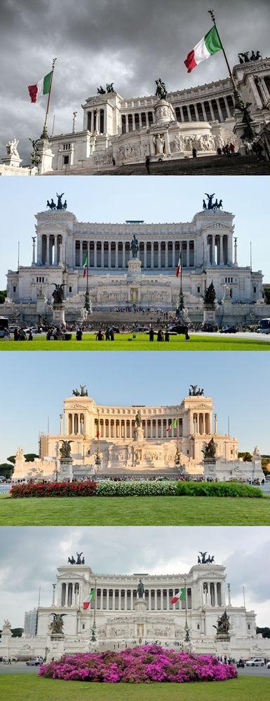 Altare della Patria - Rome, Italy ... Full gallery http://666travel.com/altare-della-patria-rome-italy/