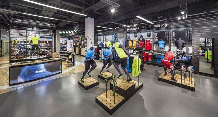 visual merchandising sports shops uk - Google Search