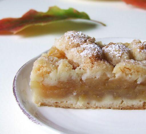 Muccasbronza: Crostata cremosa di mele
