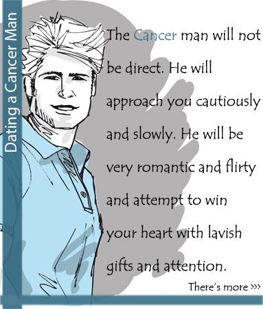 How to Date a Cancer Man (with Pictures) - wikiHow