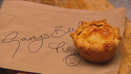 Beef Onion and Guinness Pies from Gary