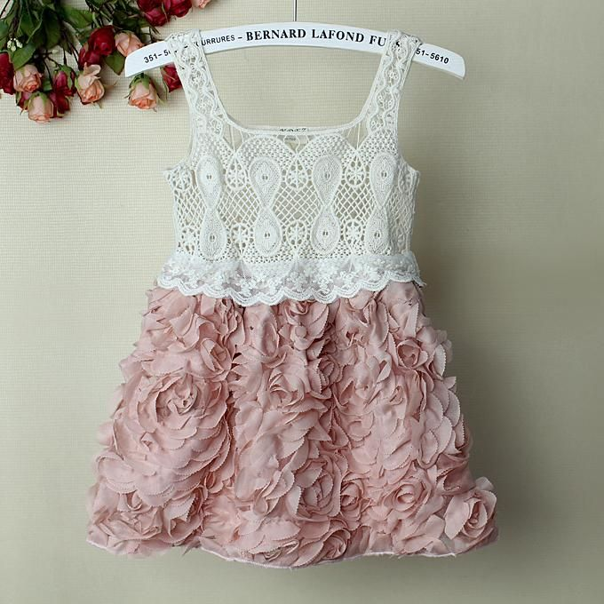 Adorable Lace and Roses Little Girls Dress $25 plus postage https://www.facebook.com/LuluLovesLace