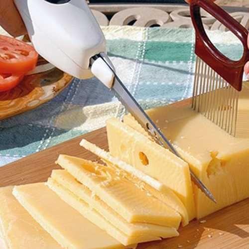 Cordless Knife Kablosuz Otomatik Et ve Sebze Kesme Bıçağı (Pilli)