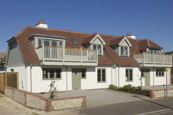Dale For New Build Chalet Style Homes In West Sussex New